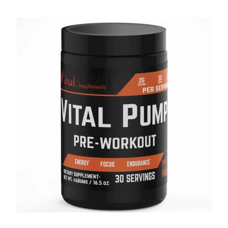 Vital Pump Pre Workout Supplement