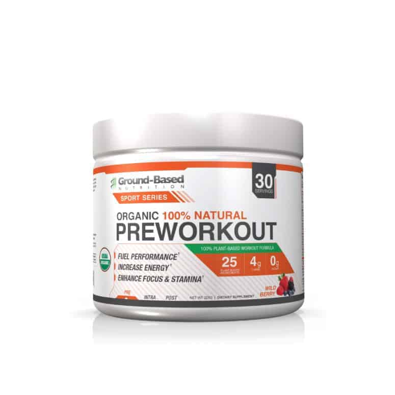Ground-Based Nutrition Organic Pre-Workout