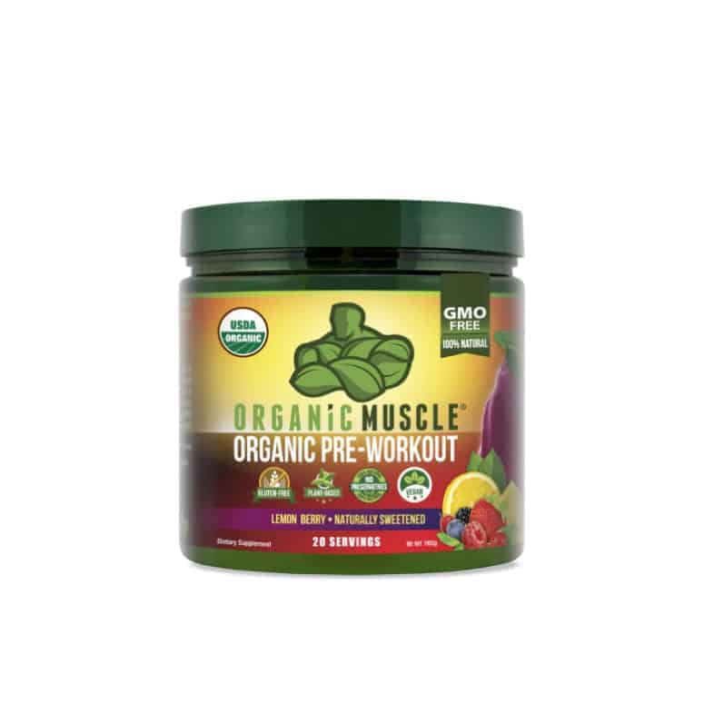 Organic Muscle Pre-Workout