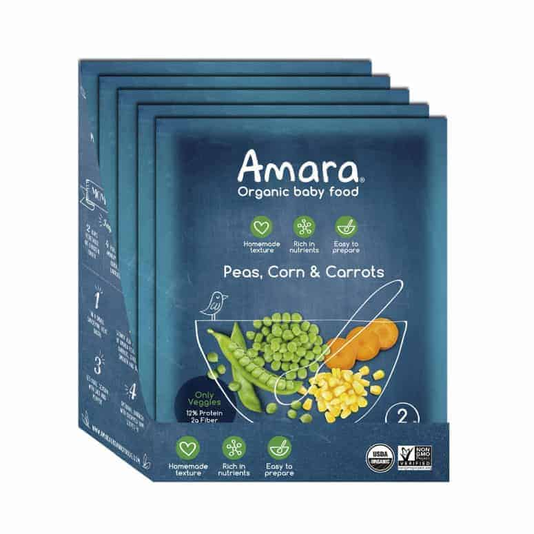 Amara Organic Baby Food