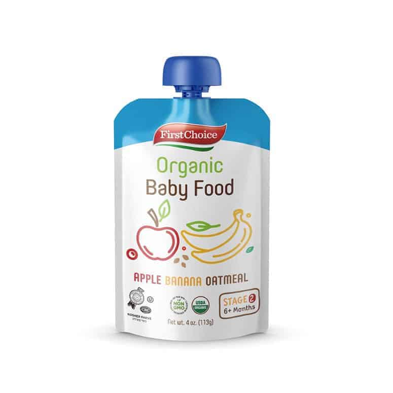 First Choice Organic Baby Food
