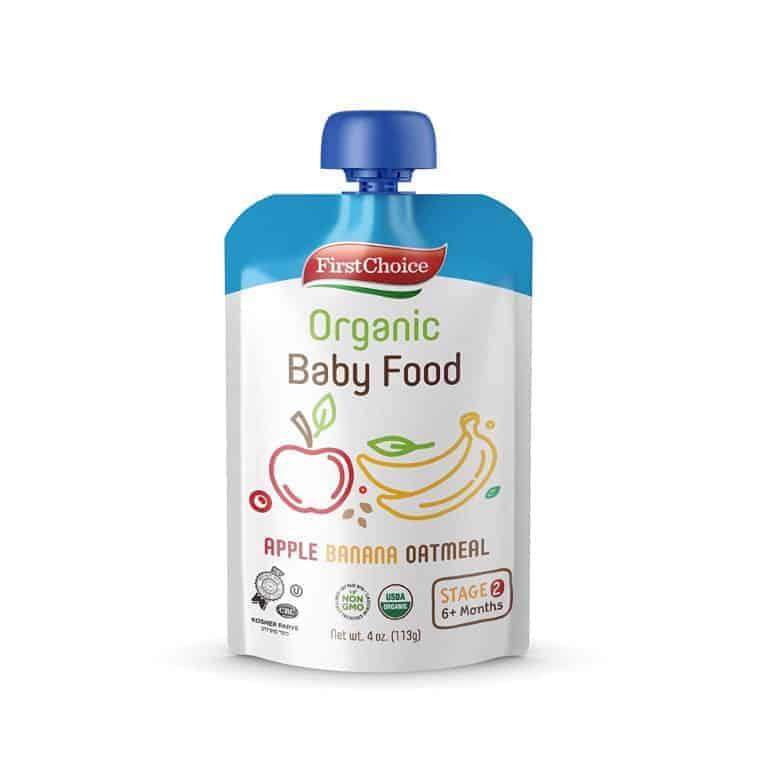 First Choice Organic Baby Food