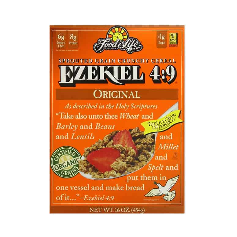 Food For Life Ezekiel 4:9 Organic Sprouted Whole Grain Cereal