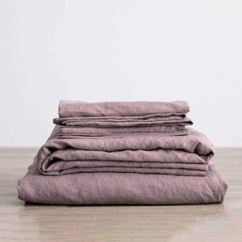 Merryfeel Luxurious 100% Pure French Linen Sheet Set