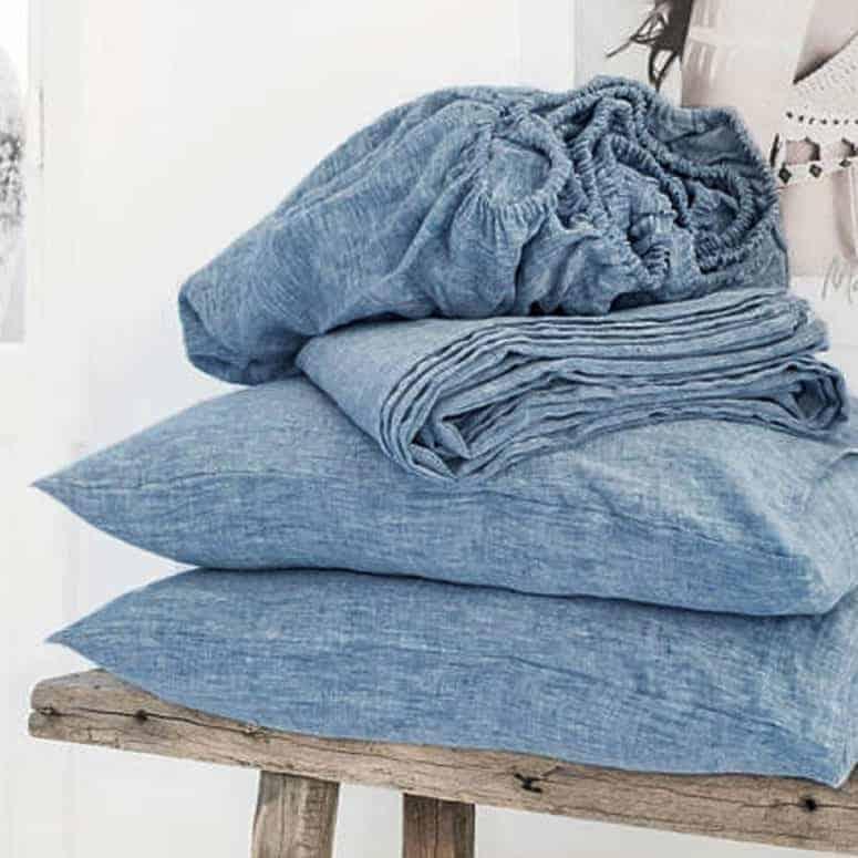 Lausonhouse 100% Pure French Linen Sheet Set