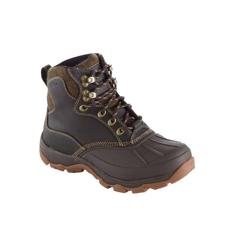L.L.Bean Women's Storm Chaser Boots with Arctic Grip