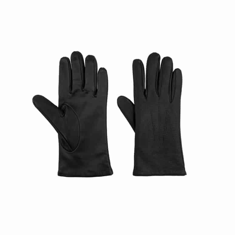 Kent Wang Deerskin Gloves Black Touchscreen