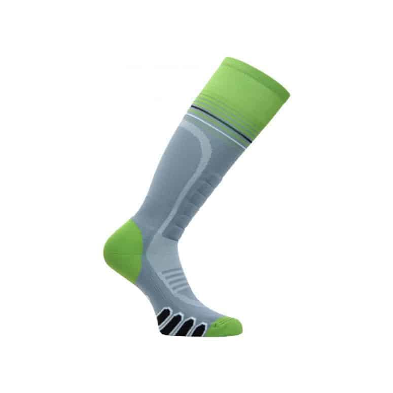EURO Socks 3211 Silver Supreme OTC Ski Sock