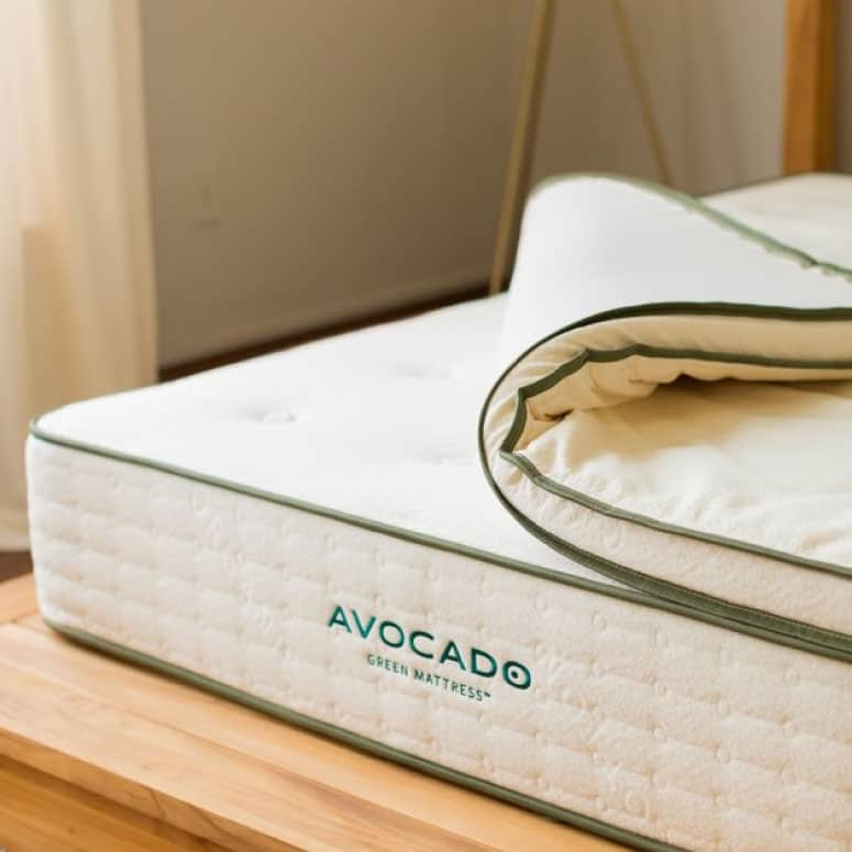 Avocado Green Organic Latex Mattress Topper