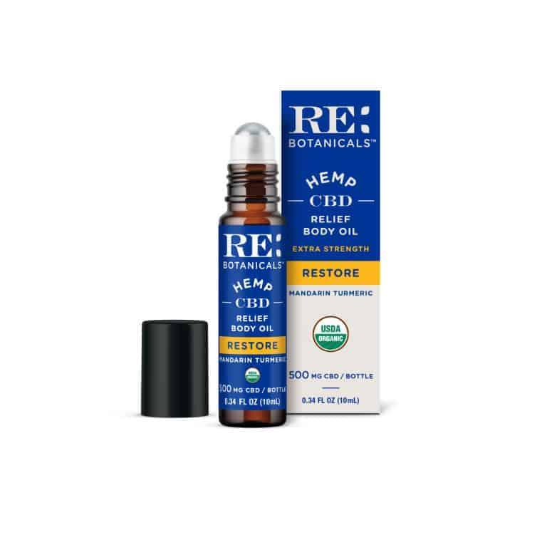 RE: Botanicals Extra Strength Relief Body Oil
