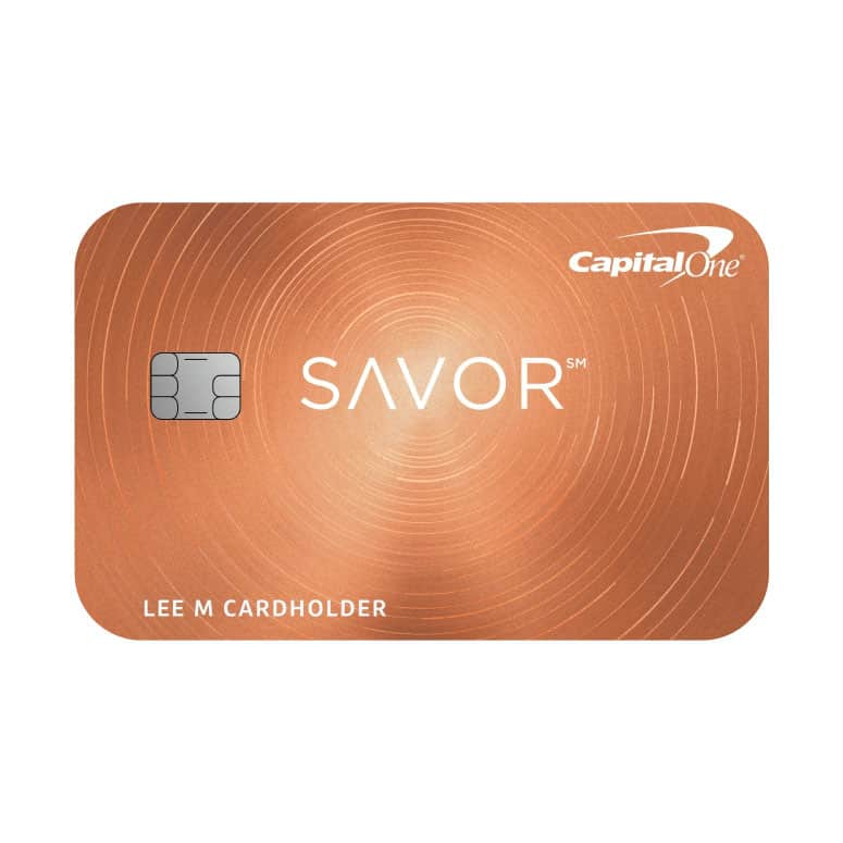 Capital One Savor One Credit Card