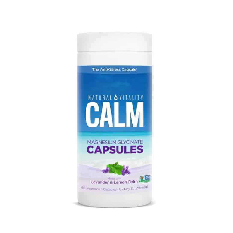 Natural Vitality Calm Capsules