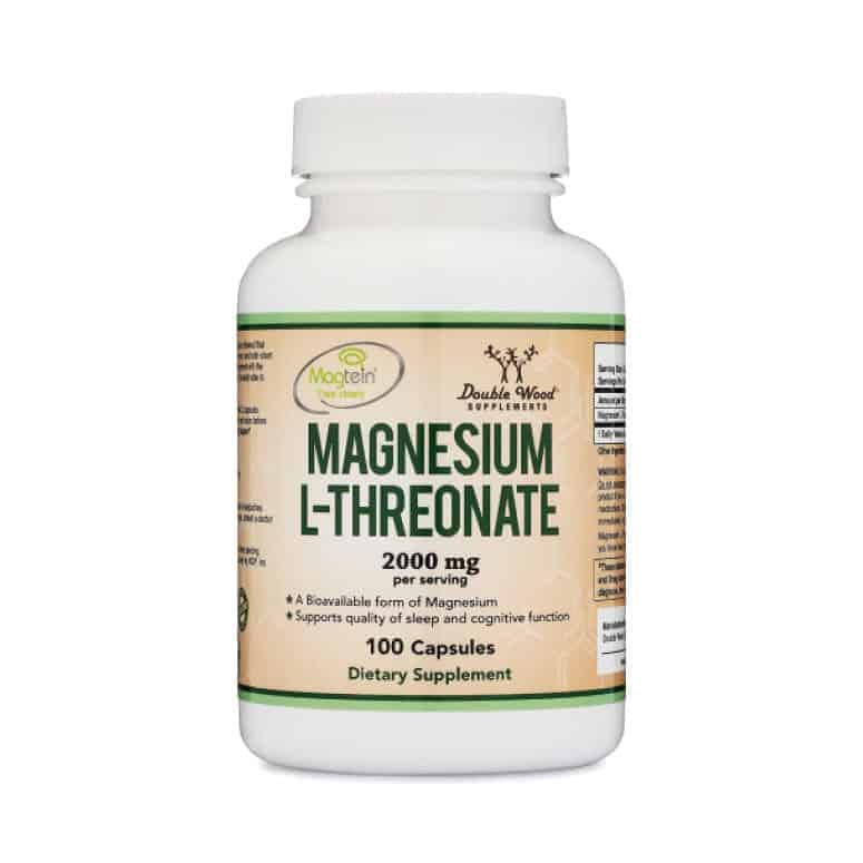 Double Wood Supplements Magnesium L-Threonate