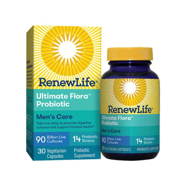 Renew Life Ultimate Flora Probiotic Men's Care