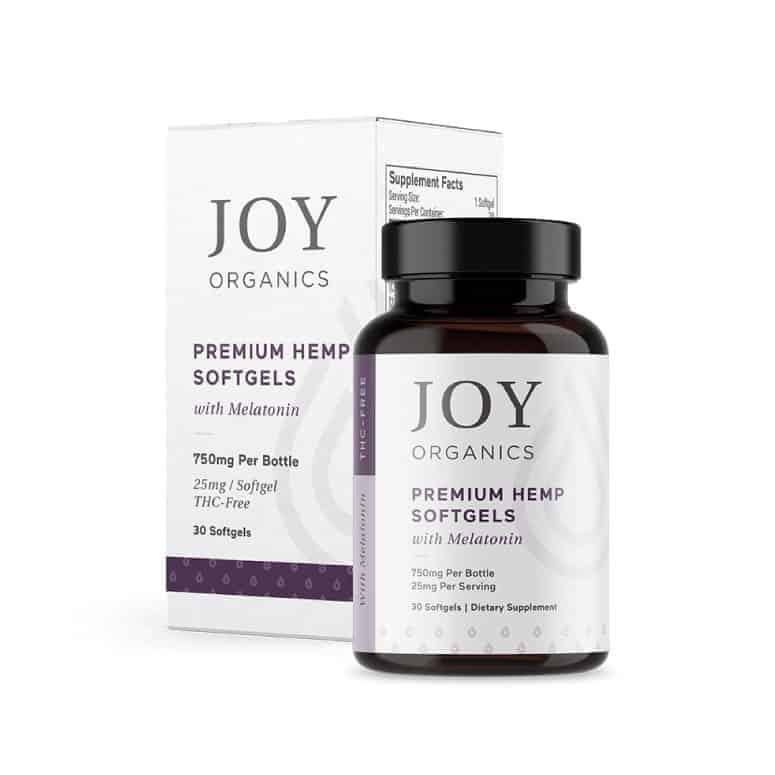 Joy Organics—CBD Softgel for Sleep