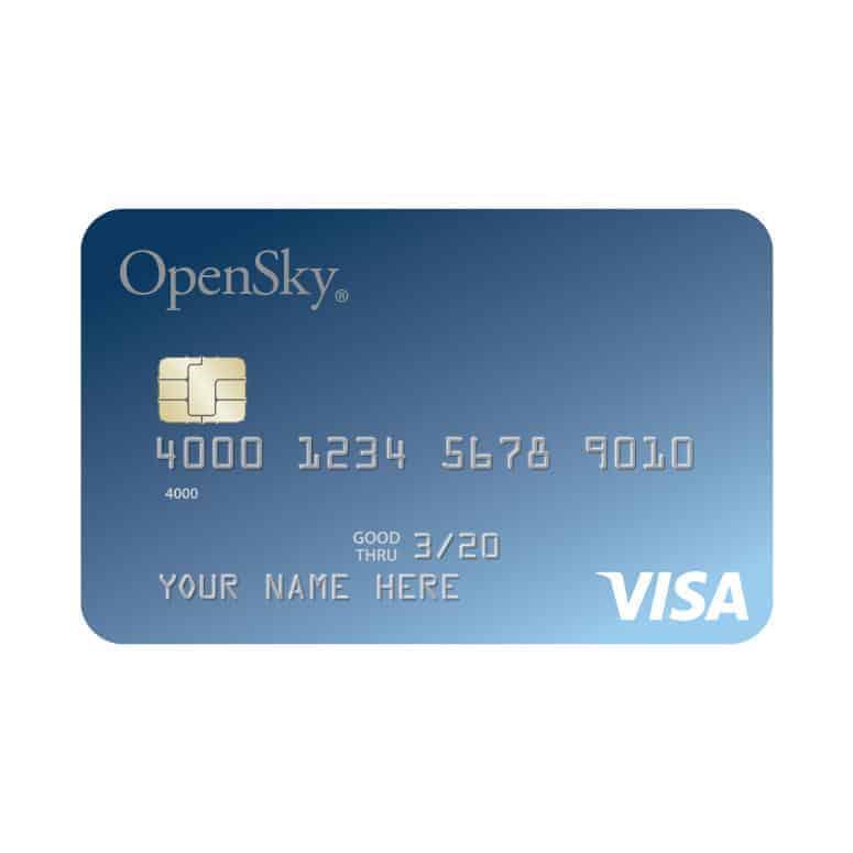 OpenSky Secured Visa Credit Card