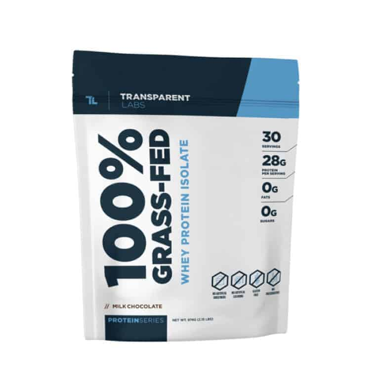 Transparent Labs 100% Grass-Fed Whey Protein Isolate