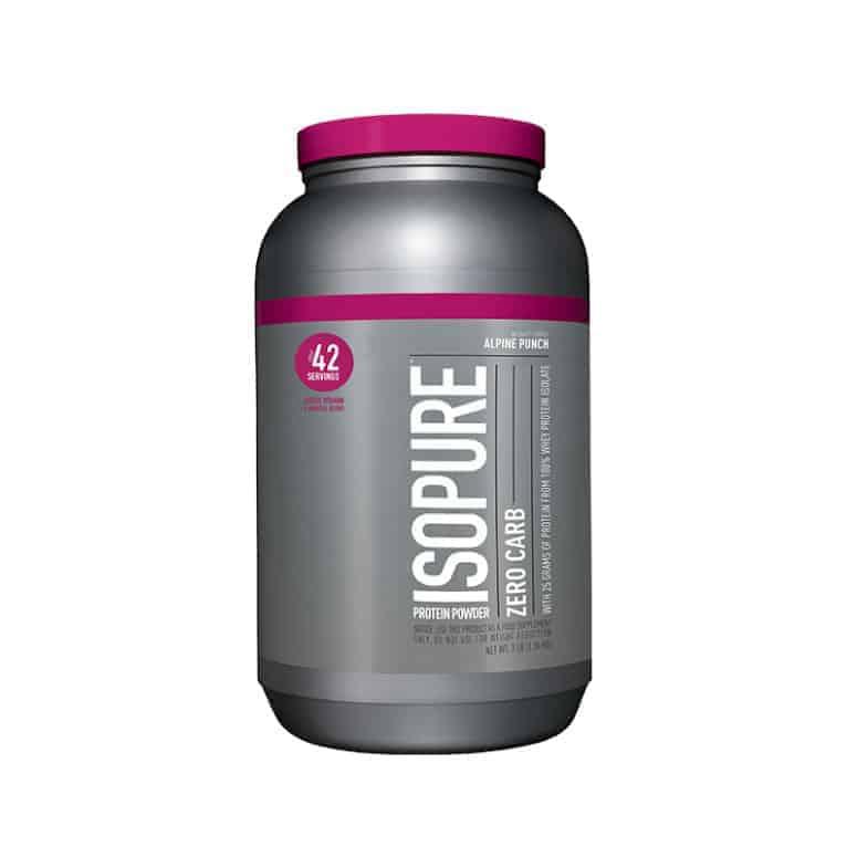 Isopure Zero Carb Whey Protein Isolate