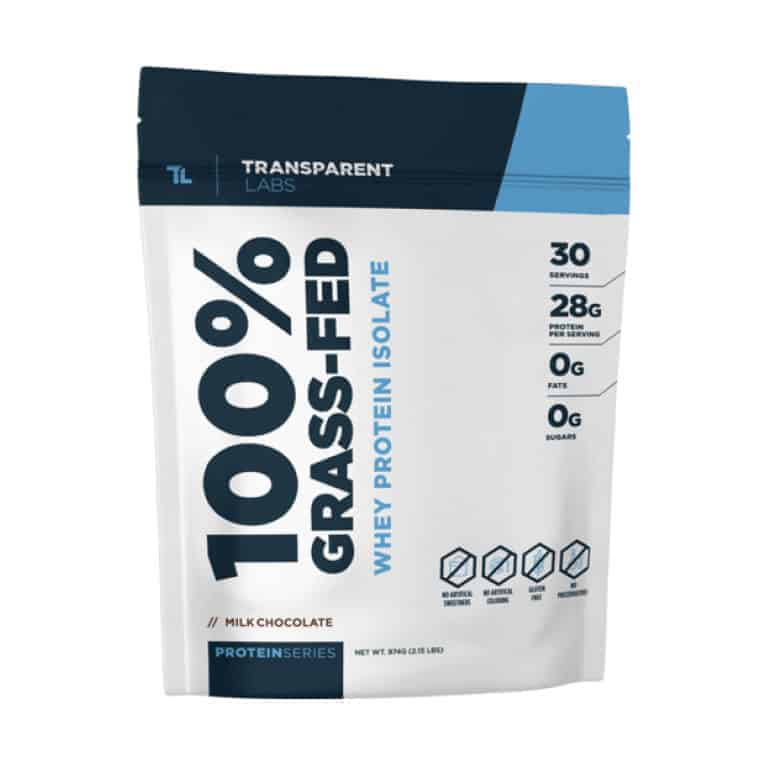 Transparent Labs Grass-Fed Whey Protein Isolate