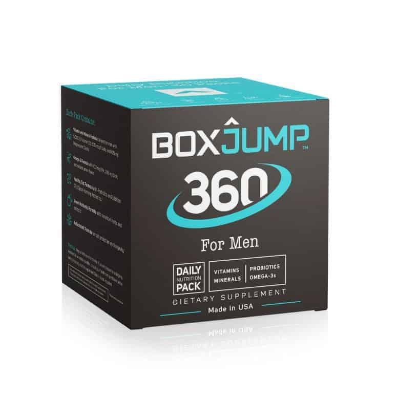Box Jump 360 for Men