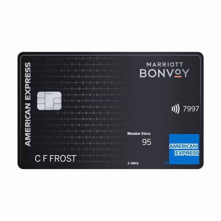 Marriott Bonvoy Brilliant Credit Card from American Express