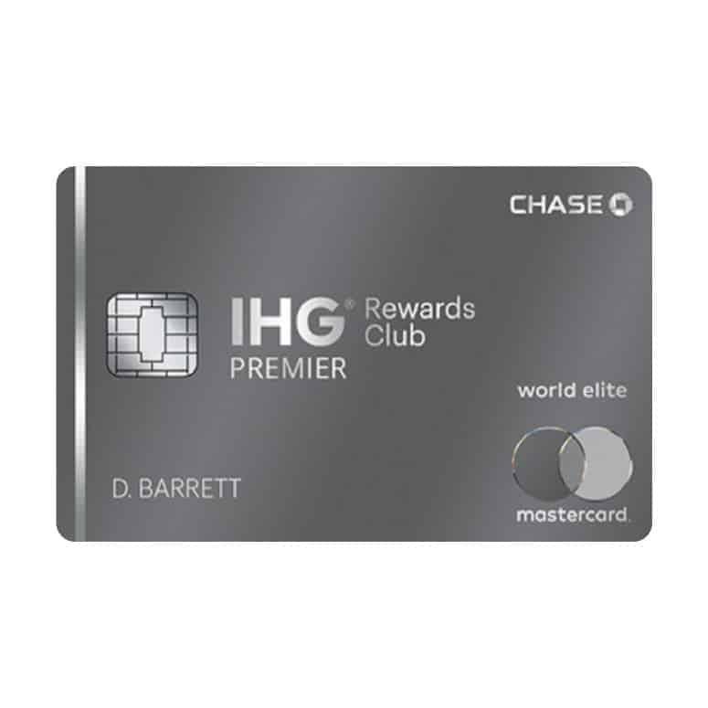 IHG Rewards Club Premier from Chase