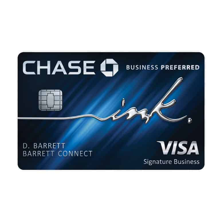 Ink Business Preferred from Chase
