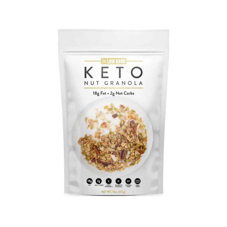 Low Karb Cinnamon Nut Granola
