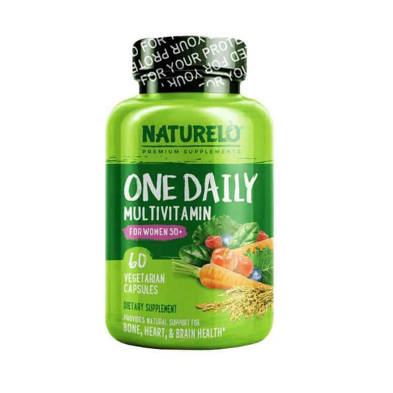 NATURELO One Daily Multivitamin for Women 50+