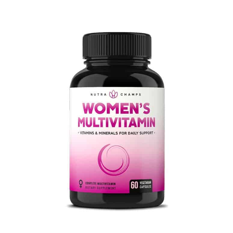 NutraChamps Women's Daily Multivitamin