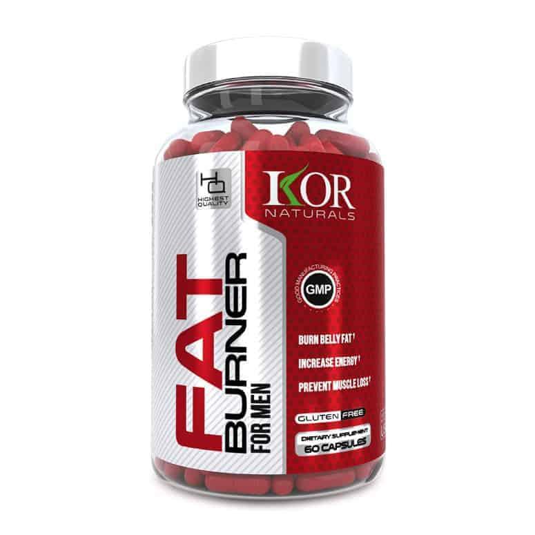 KOR - Thermogenic Fat Burner Pills for Men