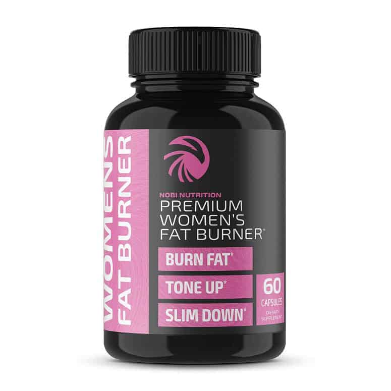 Nobi Nutrition Premium Fat Burner for Women