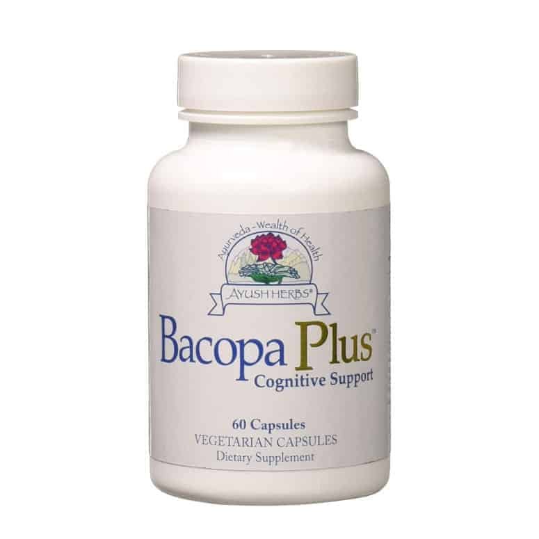 Ayush Herbs Bacopa Plus Herbal Supplement