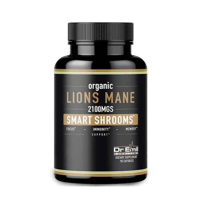 Dr. Emil Organic Lion's Mane Mushroom Capsules