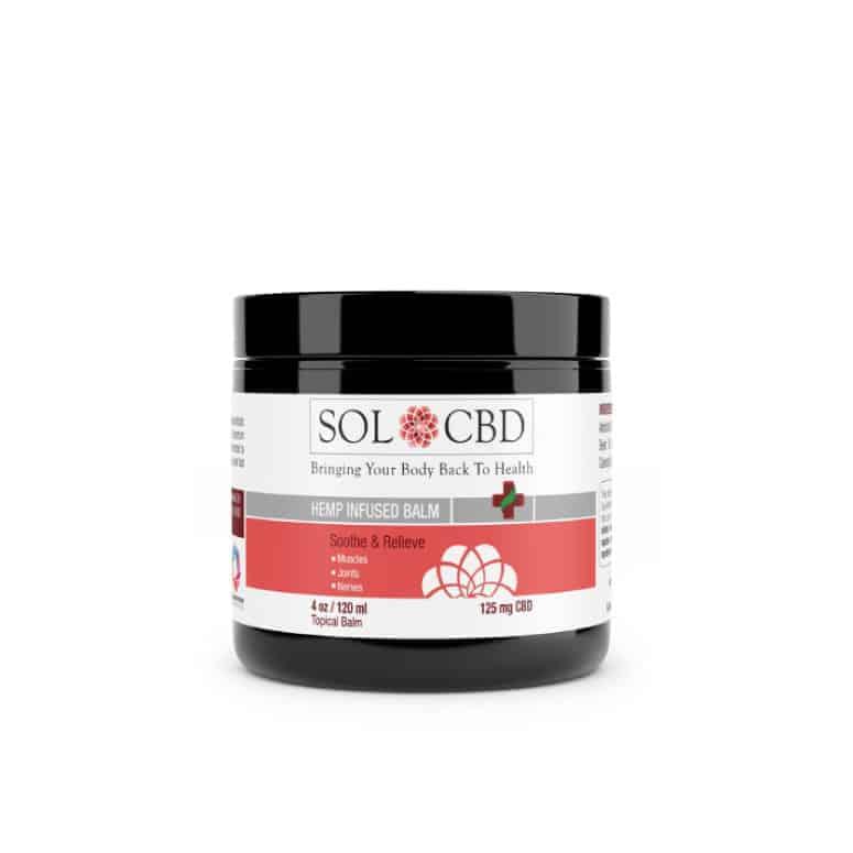 Sol CBD Hemp-Infused CBD Balm