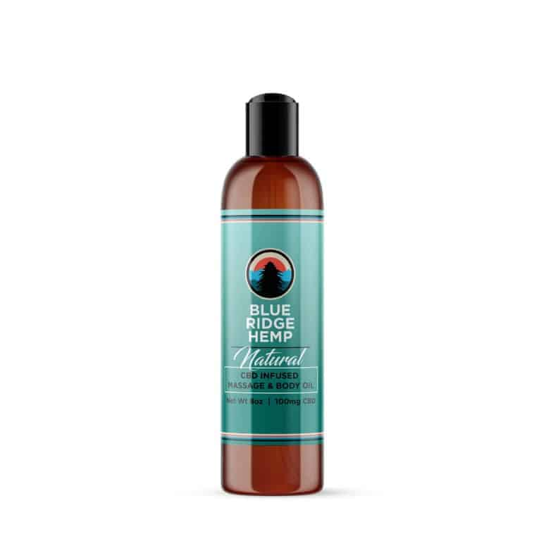 Blue Ridge Hemp's CBD Infused Massage Oil