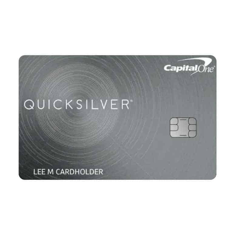 Capital One Quicksilver Rewards Credit Card