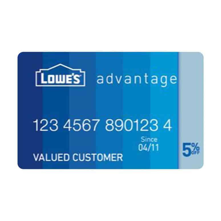 Lowe's Advantage Credit Card