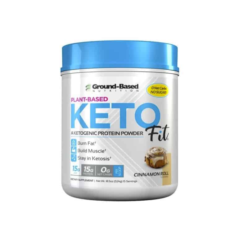 Ground Based Nutrition Keto Fit Protein