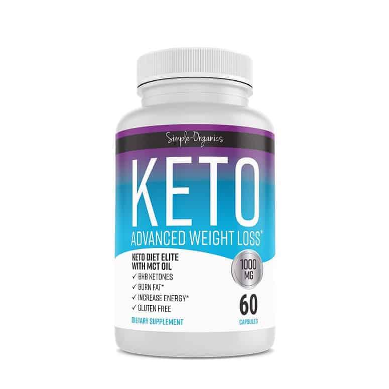 Simple Organics Keto Advanced Weight Loss