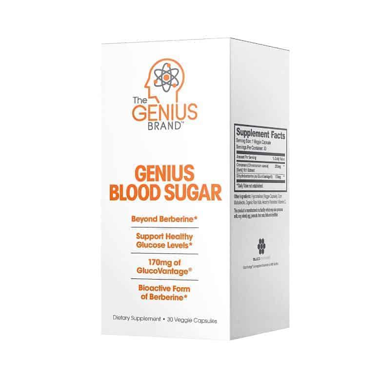Genius Blood Sugar Support Pills