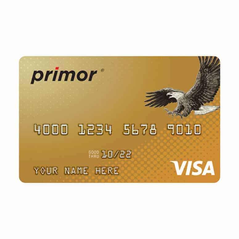 Green Dot Primor Visa Gold Secured Card