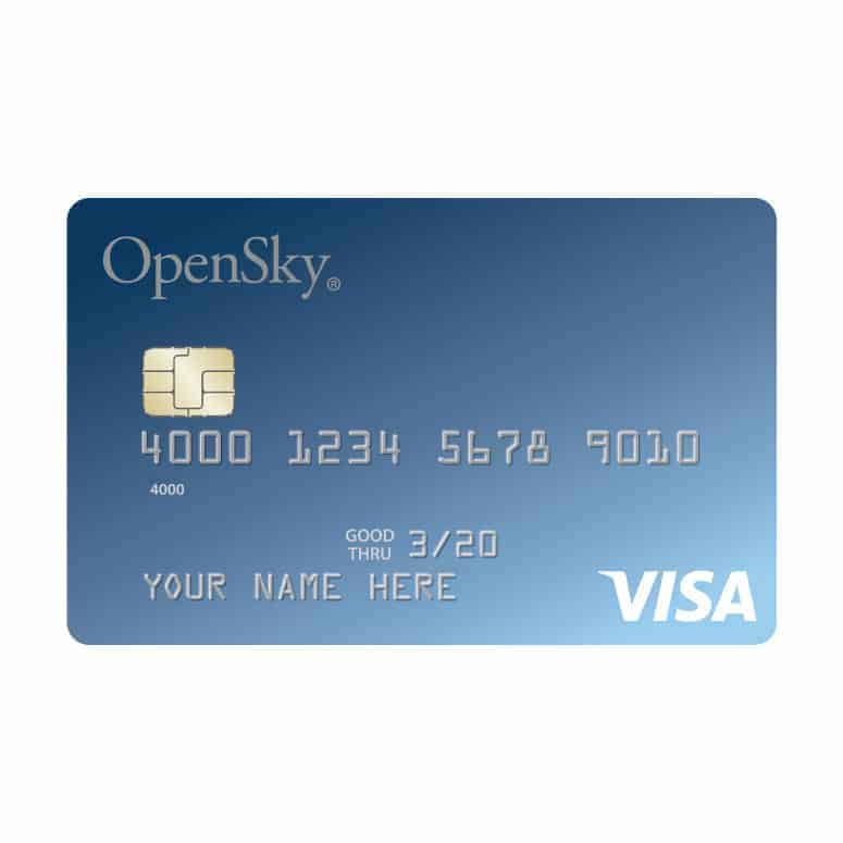 OpenSky Secured Visa Card