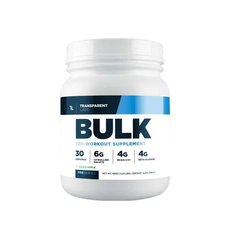 Transparent Labs - Bulk Pre-Workout