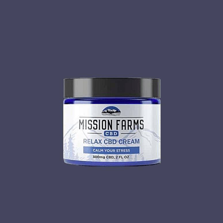 Mission Farm CBD Relax Cream