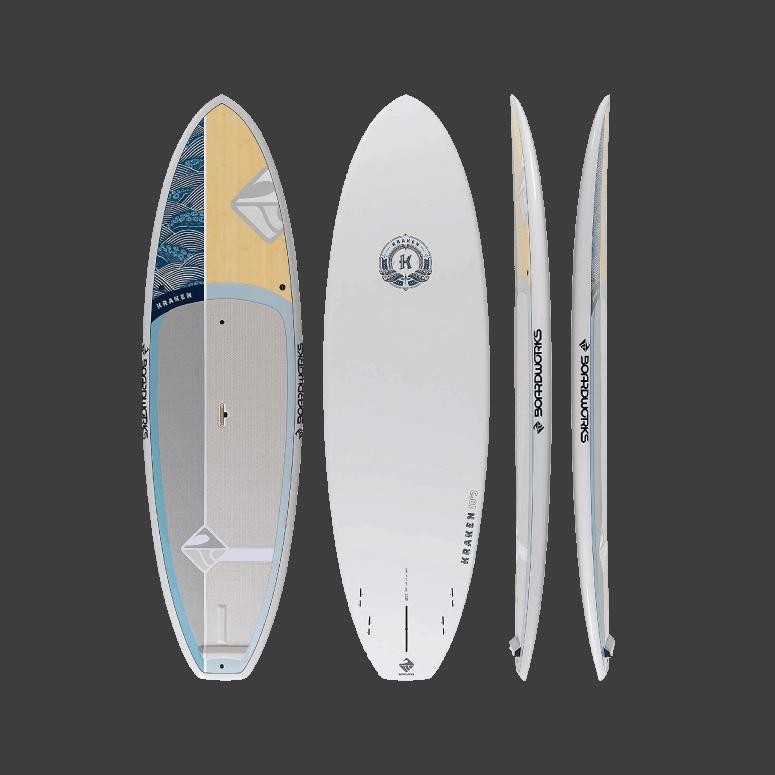 Boardworks Kraken All-Water Stand Up Paddleboard