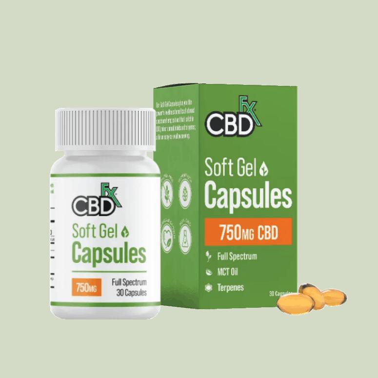 CBDfx Gel Capsules