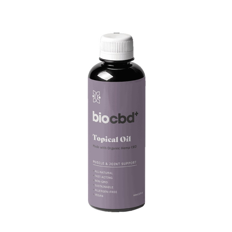 BioCBD+ Muscle and Joint Relief CBD Oil