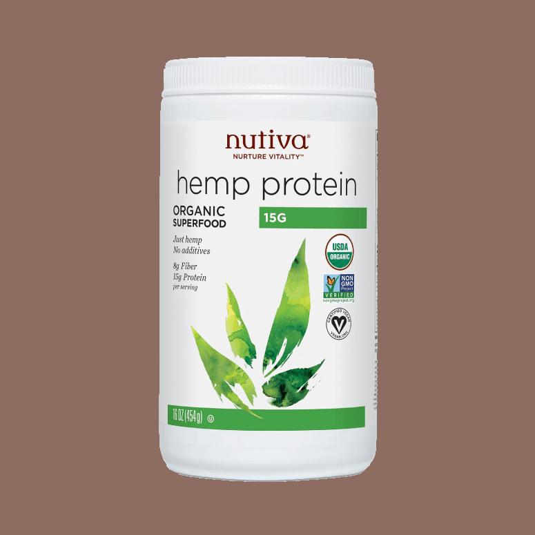 Nutiva Organic Hemp Seed Protein