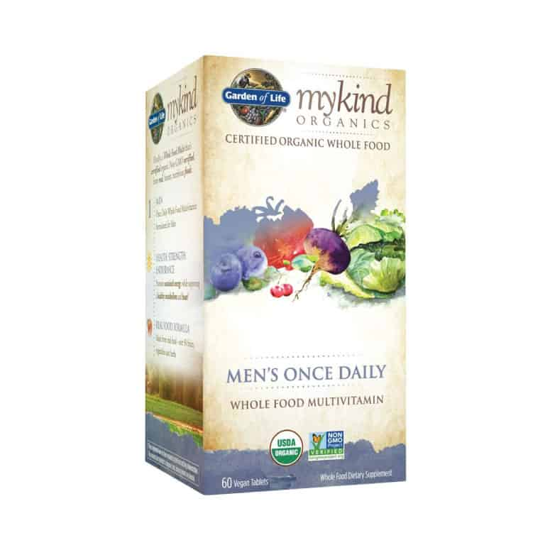 Garden of Life myKind Organic Multivitamin for Men